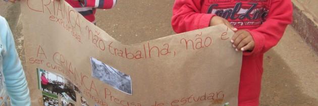 Protest against Exploitation of Children